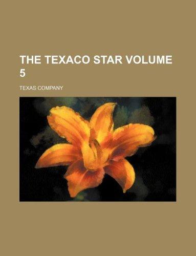 9781130978117: The Texaco star Volume 5