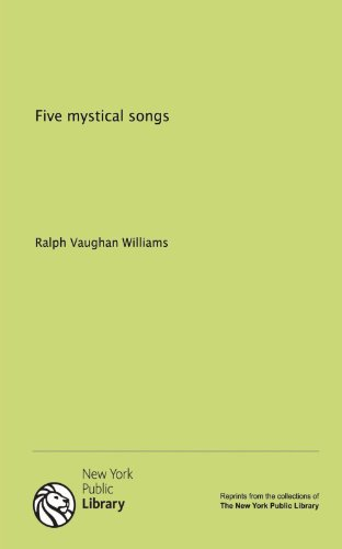9781131002422: Five mystical songs