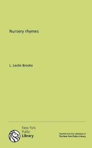 Nursery rhymes (1131010094) by Brooke, L. Leslie