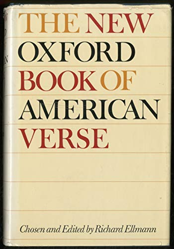 9781131050553: The Oxford Book of American Verse