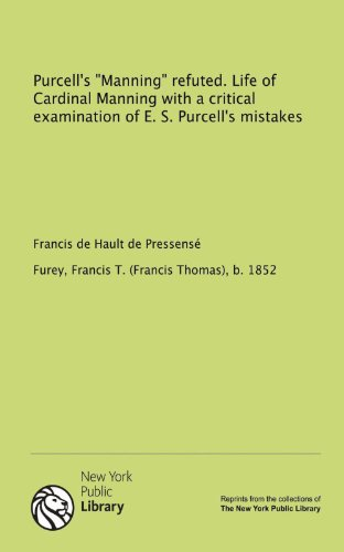 9781131085920: Purcell's