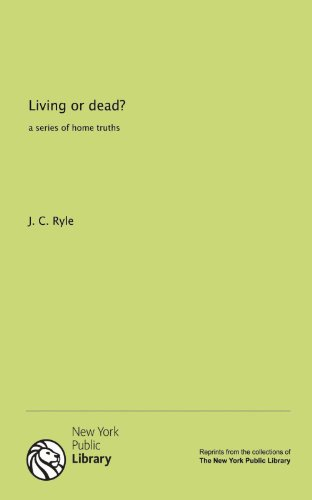 9781131135236: Living or dead?: a series of home truths