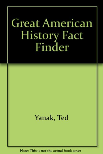 9781131152707: Great American History Fact Finder