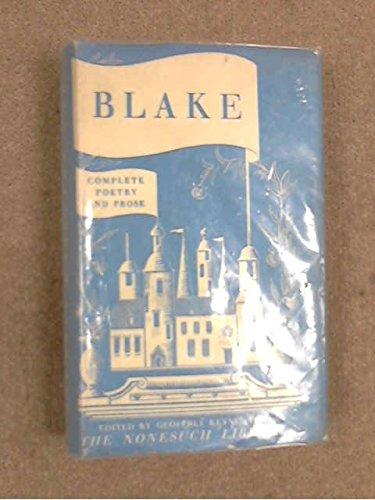 9781131330372: Complete Poetry and Prose of William Blake