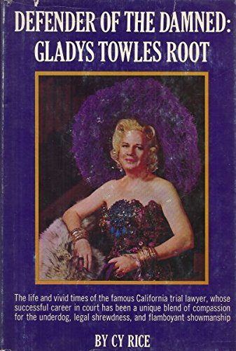 9781131489339: Defender of the damned: Gladys Towles Root