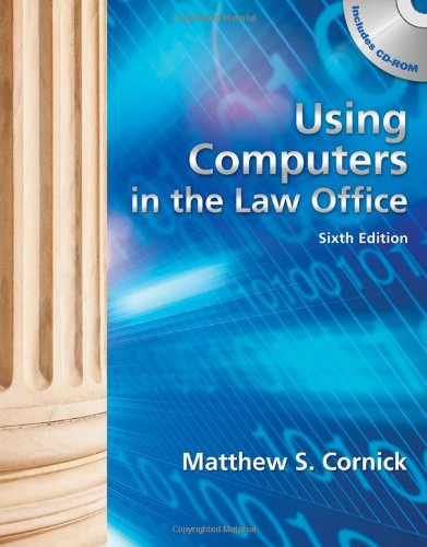 9781133014881: Using Computers in the Law Office (with Workbook)