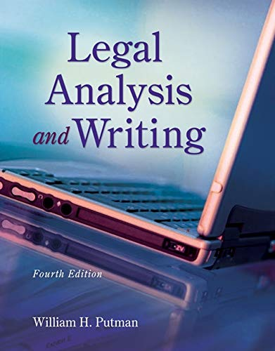 9781133016540: Legal Analysis and Writing