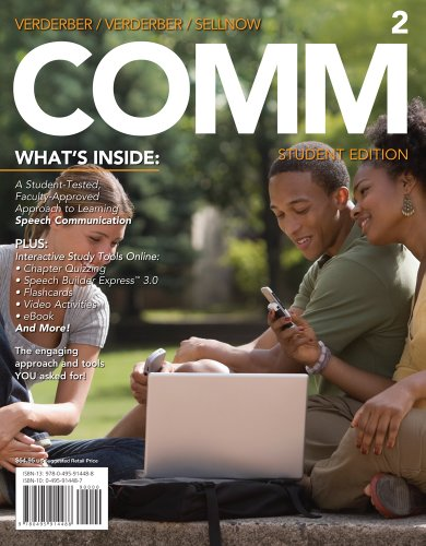 Bundle: COMM 2 (with Communication CourseMate with: Verderber, Rudolph F.;