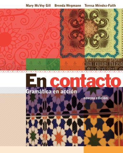 9781133025467: Bundle: En contacto: Gramática en accion, 9th + Student Activities Manual + Student Activities Manual Audio CDs