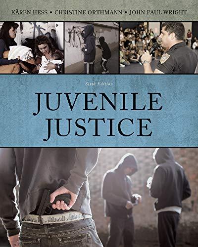Juvenile Justice: Hess, K?ren M.