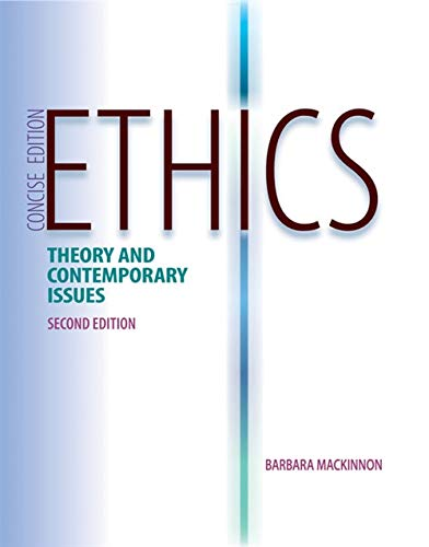 9781133049746: Ethics: Theory and Contemporary Issues, Concise, 2nd Edition