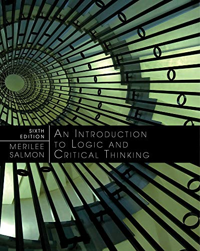 Introduction to Logic and Critical Thinking: Salmon, Merrilee H.