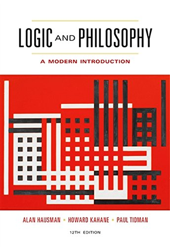 9781133050001: Logic and Philosophy: A Modern Introduction