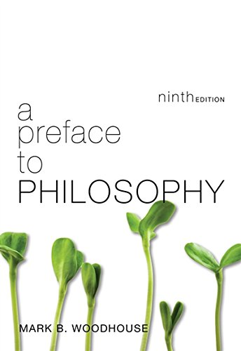 A Preface To Philosophy: Mark B. Woodhouse