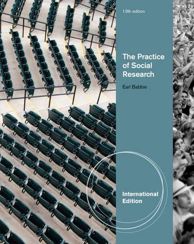 9781133050094: The Practice of Social Research (International Edition)