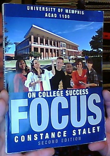9781133067177: Focus on College Success: Concise Second Edition (Custom Edition for the University of Memphis - ACAD 1100)