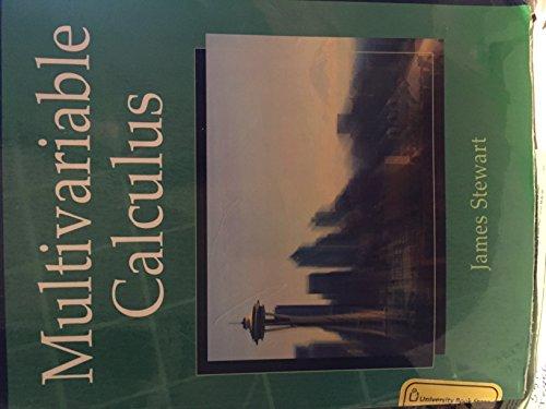 Custom Multivariable Calculus: James Stewart