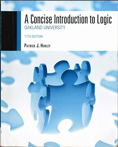 Amazon. Com: a concise introduction to logic (9781111346232.