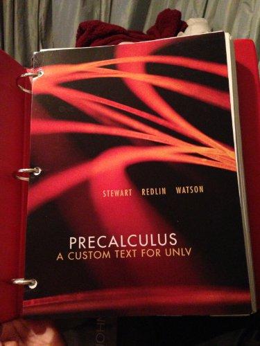 9781133067955: Precalculus: A Custom Text for UNLV