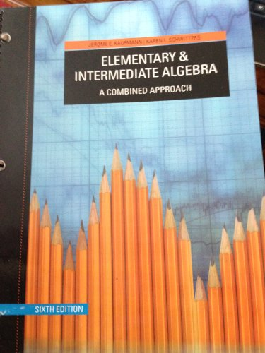 9781133068518: Elementary and Intermediate Algebra