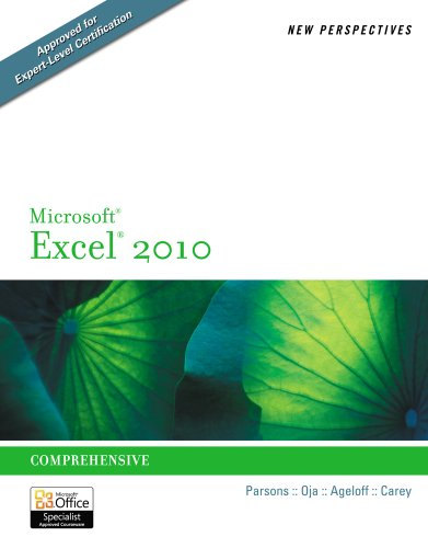 9781133070313: Bundle: New Perspectives on Microsoft Excel 2010: Comprehensive + Video Companion