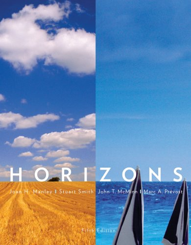 Bundle: Horizons, 5th + Student Activities Manual + Audio CD-ROM, Stand Alone Version (1133071260) by Manley, Joan H.; Smith, Stuart; McMinn, John T.; Prevost, Marc A.