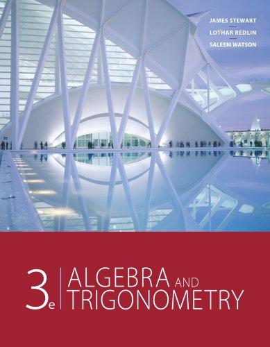 Bundle: Algebra and Trigonometry, 3rd + Mathematics: Stewart, James; Redlin,