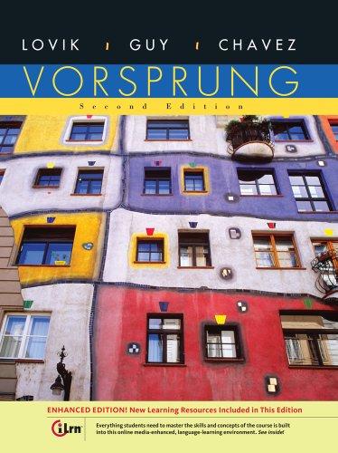 9781133072287: Bundle: Vorsprung, Enhanced Edition, 2nd + Student Activities Manual