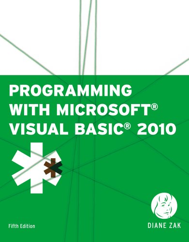 9781133073185: Bundle: Programming with Microsoft Visual Basic 2010, 5th + Microsoft Visual Studio Express 2010 Unlimited