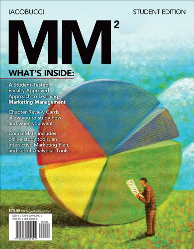 Bundle: MM (with Marketing CourseMate with eBook Printed Access Card), 2nd: Iacobucci, Dawn