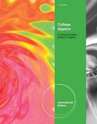 9781133103509: College Algebra