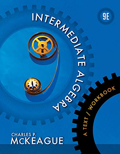 9781133103646: Intermediate Algebra: A Text/Workbook (Textbooks Available with Cengage Youbook)