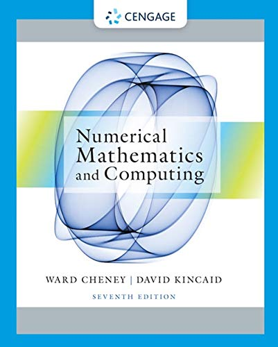 9781133103714: Numerical Mathematics and Computing