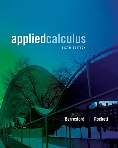 9781133103745: Applied Calculus