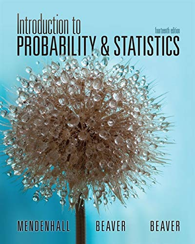 9781133103752: Introduction to Probability and Statistics