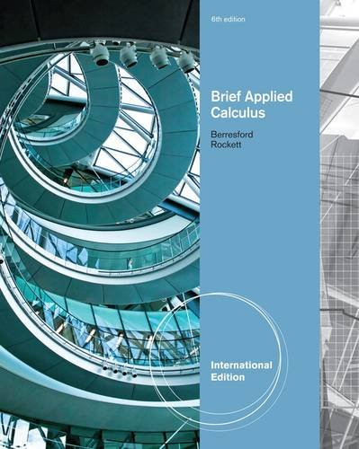 9781133103974: Applied Calculus