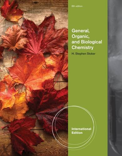 9781133106869: General, Organic, and Biological Chemistry. H. Stephen Stoker