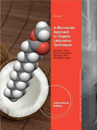 9781133107415: Pavia, D: A Microscale Approach to Organic Laboratory Techn