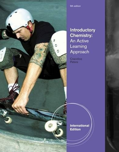 9781133108115: Introductory Chemistry: An Active Learning Approach. Mark S. Cracolice, Edward I. Peters