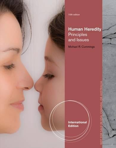 9781133108634: Human Heredity: Principles and Issues, International Edition