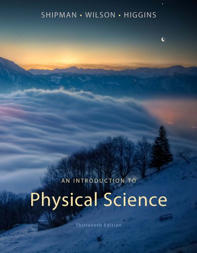 9781133109099: An Introduction to Physical Science