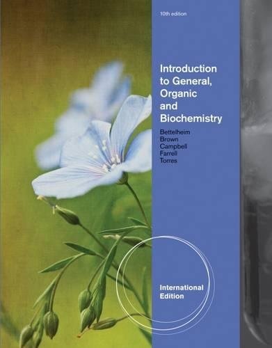 9781133109112: Introduction to General, Organic and Biochemistry, International Edition