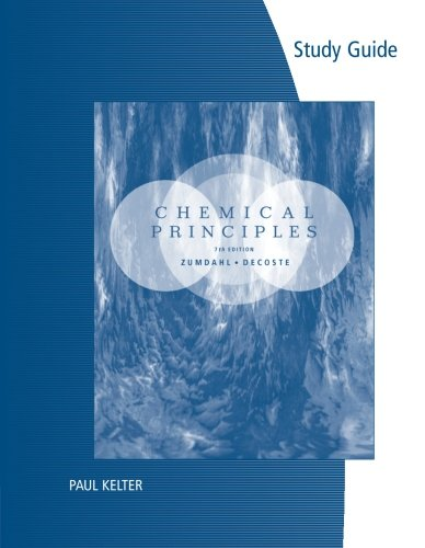 9781133109242: Study Guide for Zumdahl/DeCoste's Chemical Principles, 7th