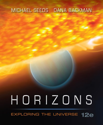 9781133109693: Telecourse Student Guide for Seeds/Backman's Horizons: Exploring the Universe, 12th