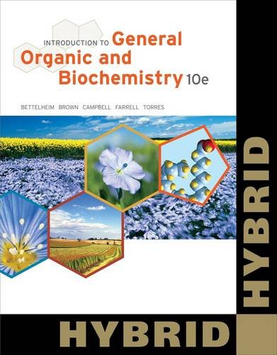 9781133109822: Introduction to General, Organic and Biochemistry, Hybrid (with OWL 24-Months Printed Access Card) (William H. Brown and Lawrence S. Brown)