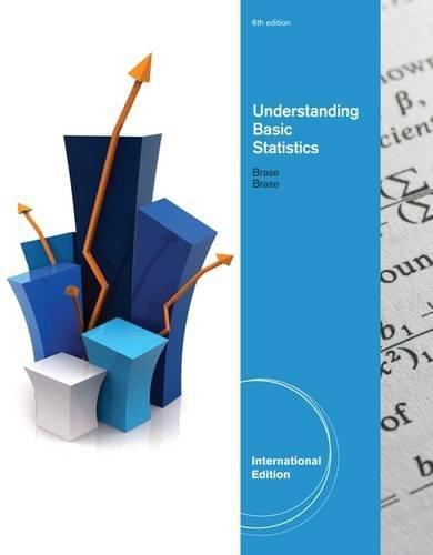 Understanding Basic Statistics: Brase, Charles Henry