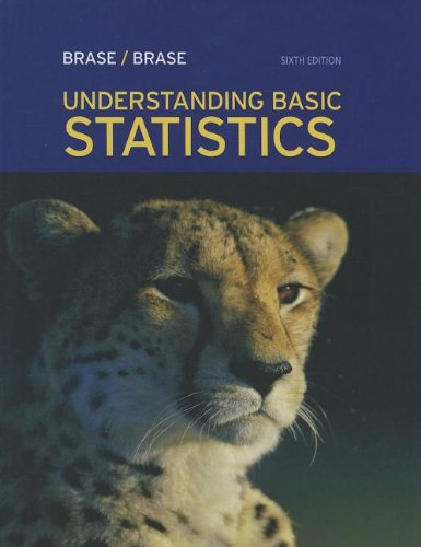 Understanding Basic Statistics, by Brase, 6th Edition: Brase, Charles Henry