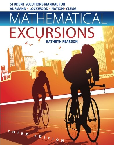 9781133112211: Student Solutions Manual for Aufmann/Lockwood/Nation/Clegg's Mathematical Excursions, 3rd