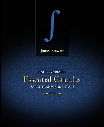 Single Variable Essential Calculus: Early Transcendentals: Stewart, James