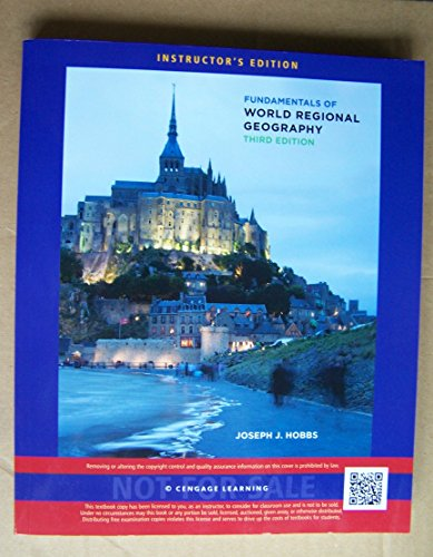 9781133113898: FUNDAMENTALS OF WORLD REGIONAL GEOGRAPHY